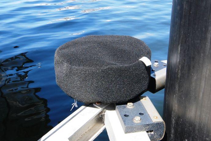 dock wheel cover