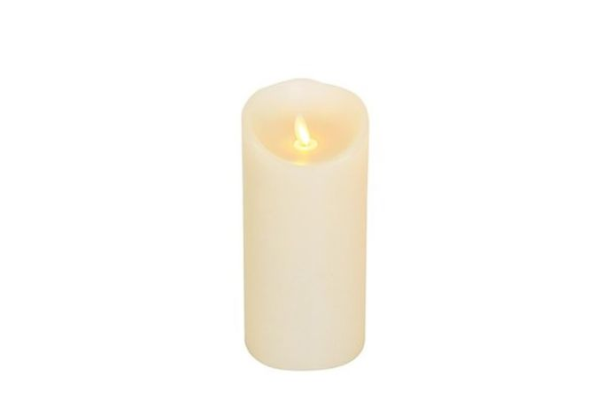 Luminara Wax Flicker Candle 3.5 x 7 1