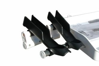 Quad Bait Board Rod Holder Kit