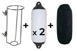 Fender Basket, Fender and Covers Large Black