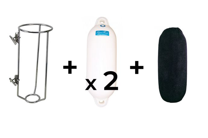 Fender Basket, Fender and Covers Small Black