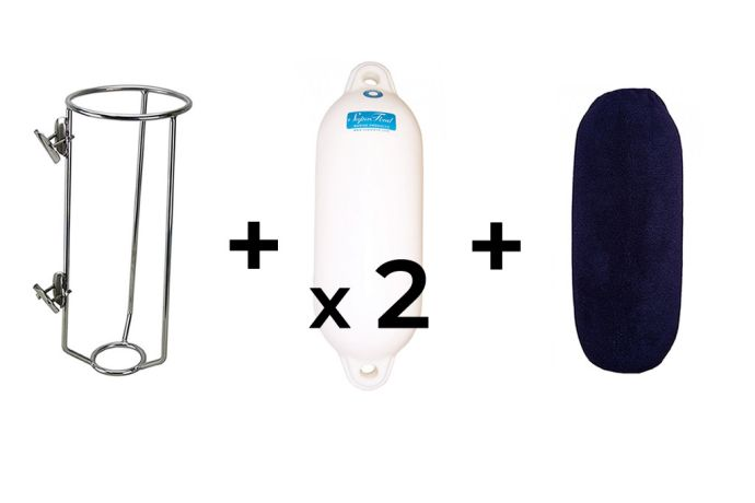 Fender Basket, Fender and Covers Small Navy